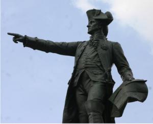 La statue de Rochambeau (1901-1902-1933-1940-1974)