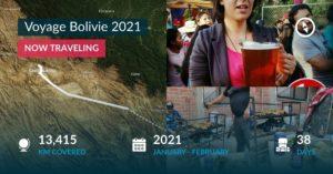 Voyage Bolivie 2021