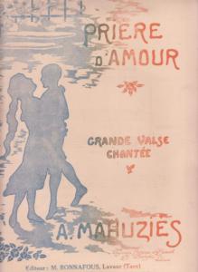 Grande Valse Chantée MAHUZIES A.